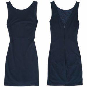Zara mesh insert mini dress black size small